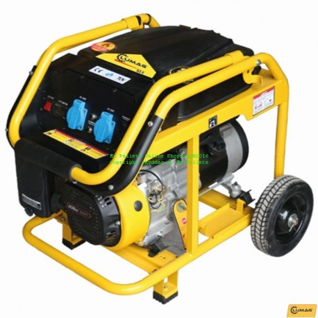 Lumag GE3 bensindrivet elverk 2.8 kW strömgenerator