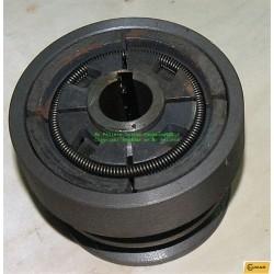 Centrifugal-Koppling-dubbelremskiva-25 mm.