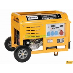 Elverk 8 kW Kontinuerlig effekt 7 kW Bensin