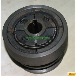 Slungkoppling- Centrifugal Koppling -dubbelremskiva-19,05 mm.