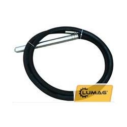 Vibrationslang diameter 45 mm. längd 6 meter.