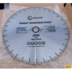 Diamantklinga 450 mm.diameter 30 mm. Turbo