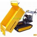 Minidumper MD500 -6.5 HP manuell tippning framåt